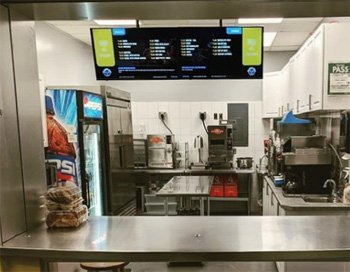 Digital Signage Menuboard Solution for The City of Toronto Bill Bolton Arena by SmoothwebLife TV